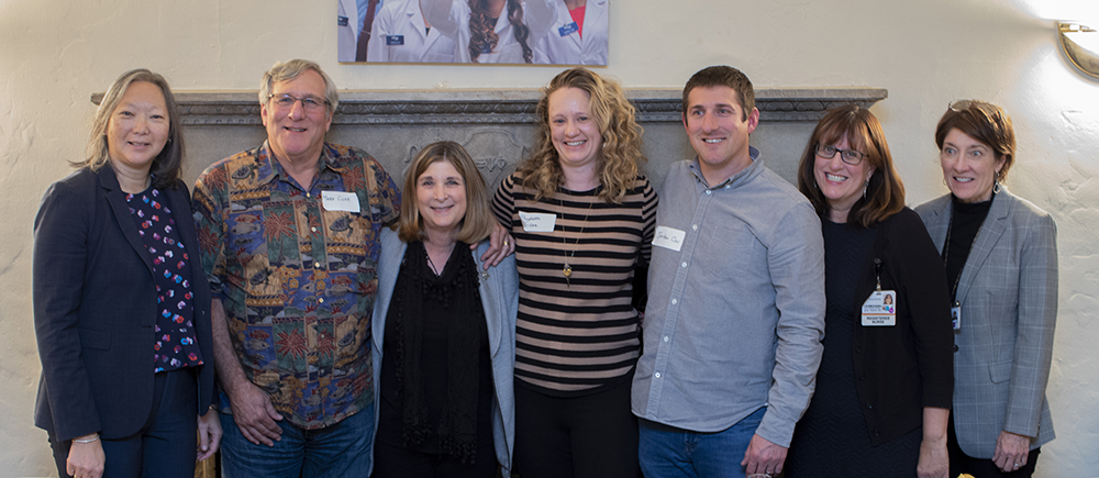 Adam Clar's family at the inaugural Adam Clar Neuro-Oncology Nursing Lecture