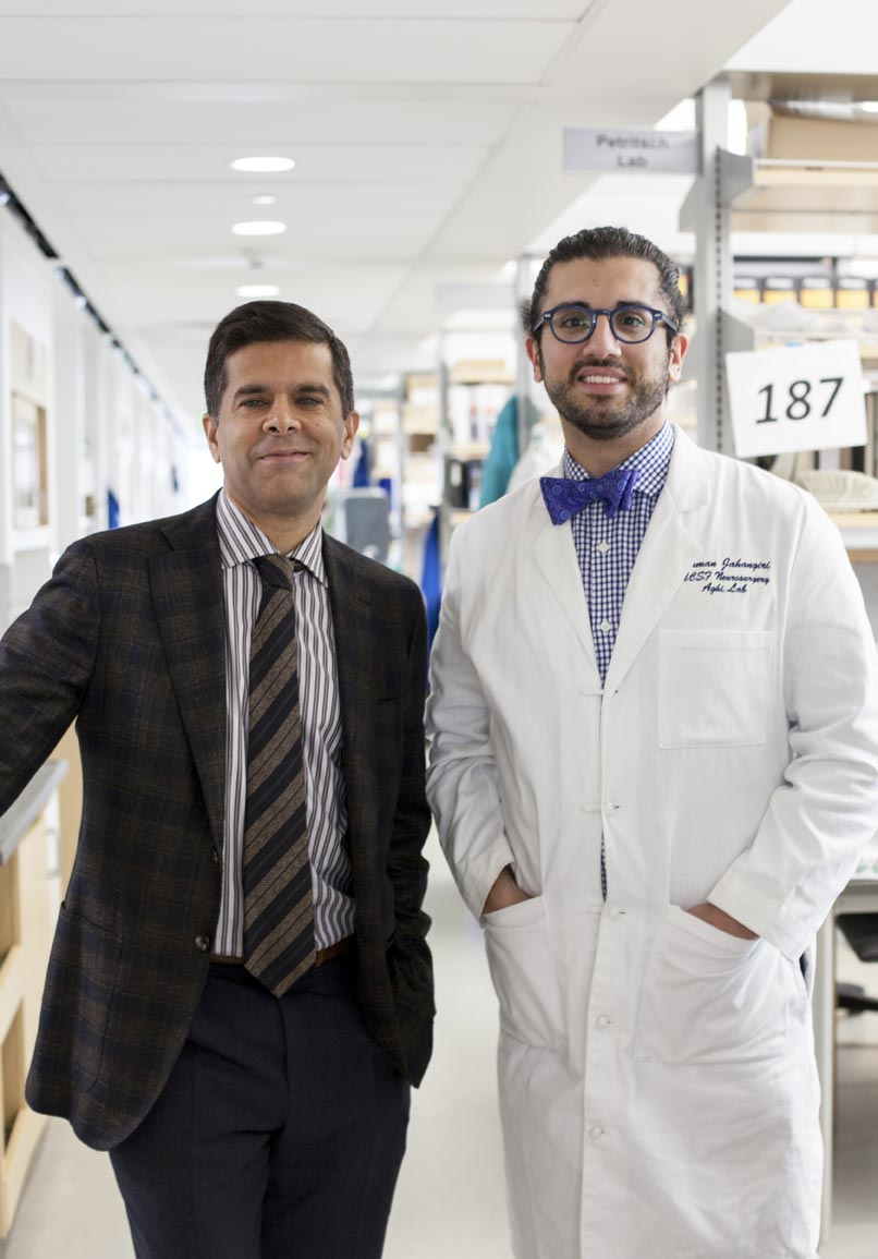 UCSF Arman Jahangiri and Manish Aghi